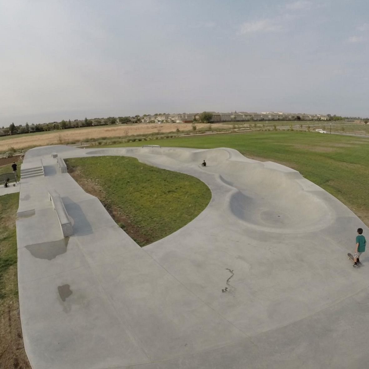 wild rose skatepark, sacramento, california