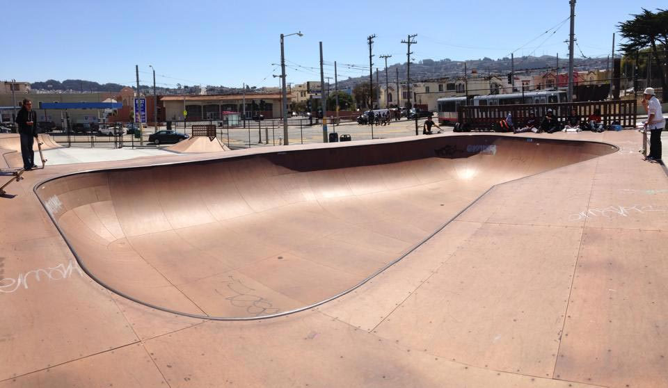 balboa skatepark, san francisco, california