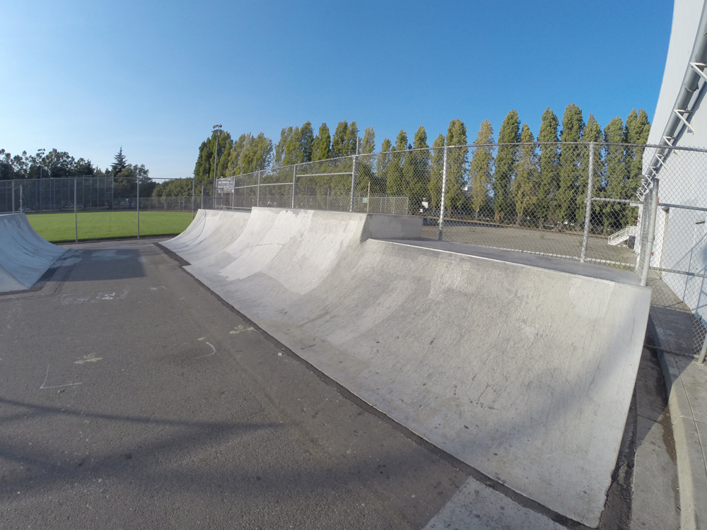 thrasher park, san leandro, california