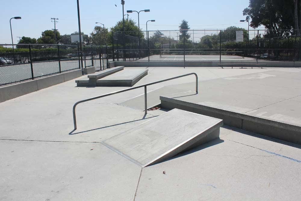 shoreview skatepark, san mateo, california