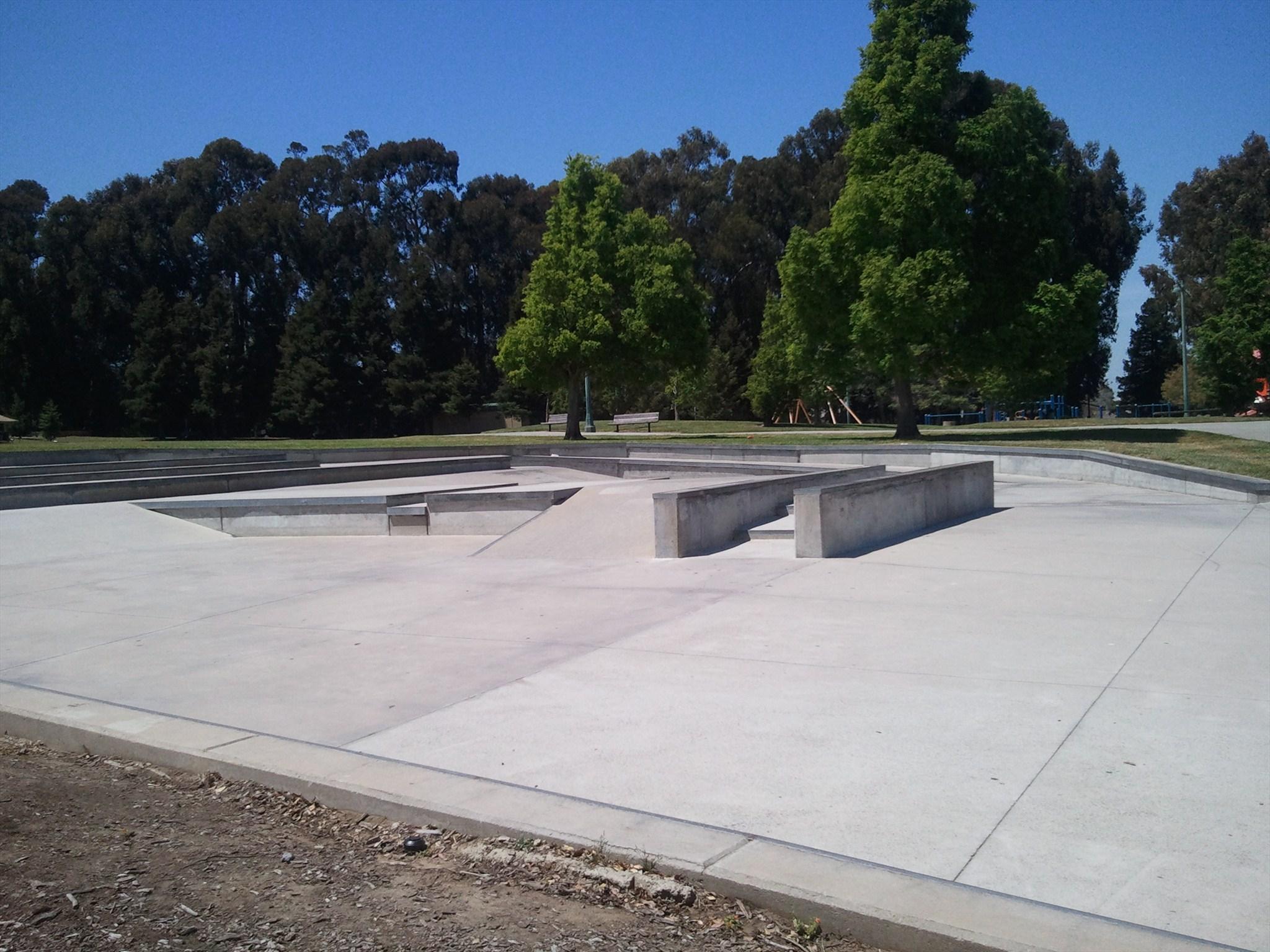 beresford skatepark, san mateo, california
