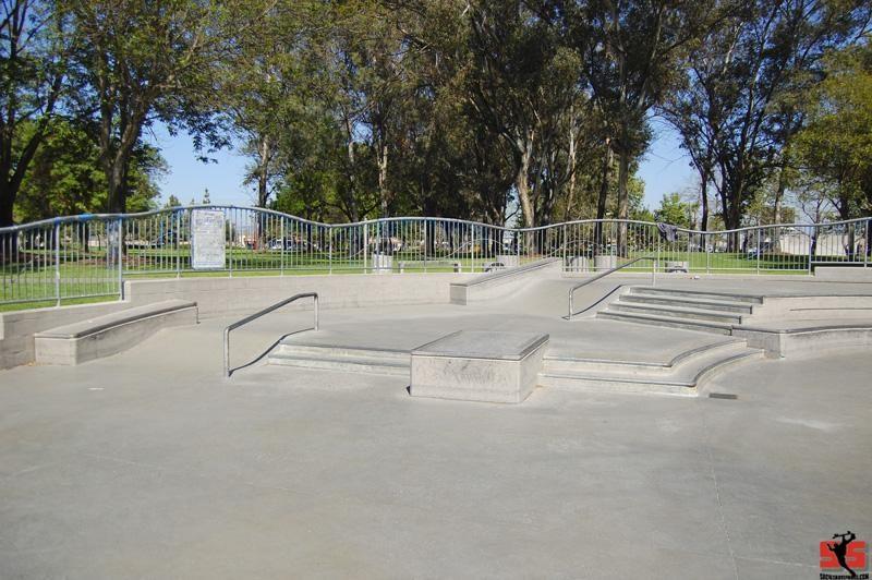 santa ana skatepark, santa ana, california