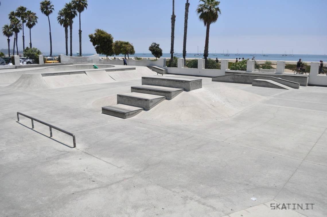 skater's point skatepark, santa barbara, california