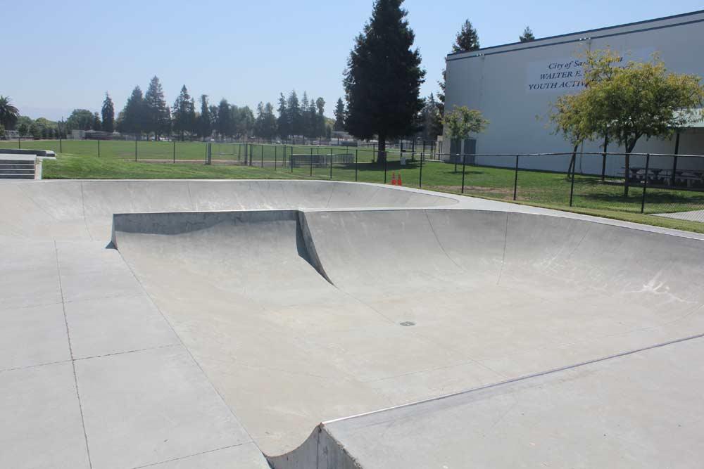santa clara skatepark, santa clara, california
