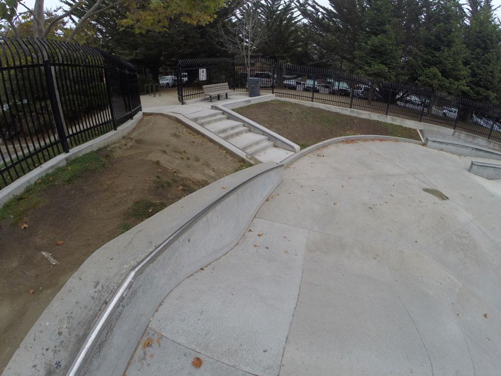 jose avenue skatepark, santa cruz, california