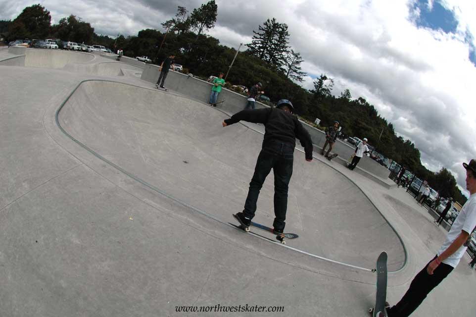 tim brauch memorial skatepark, scotts valley, california