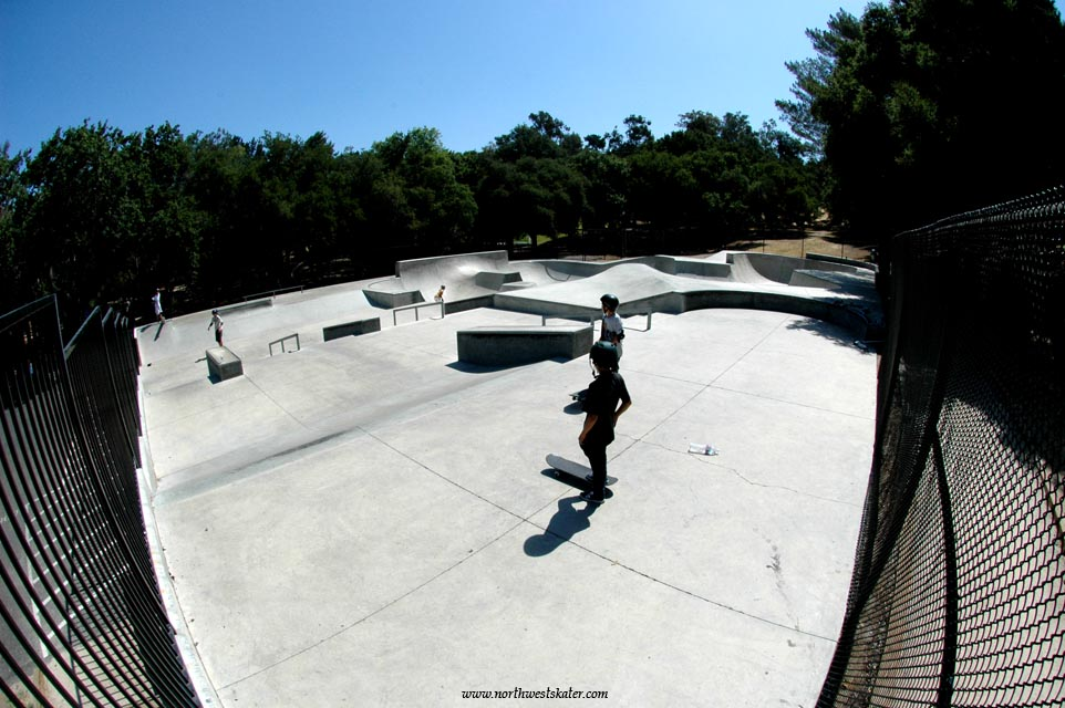 hans christian anderson park, solvang, california