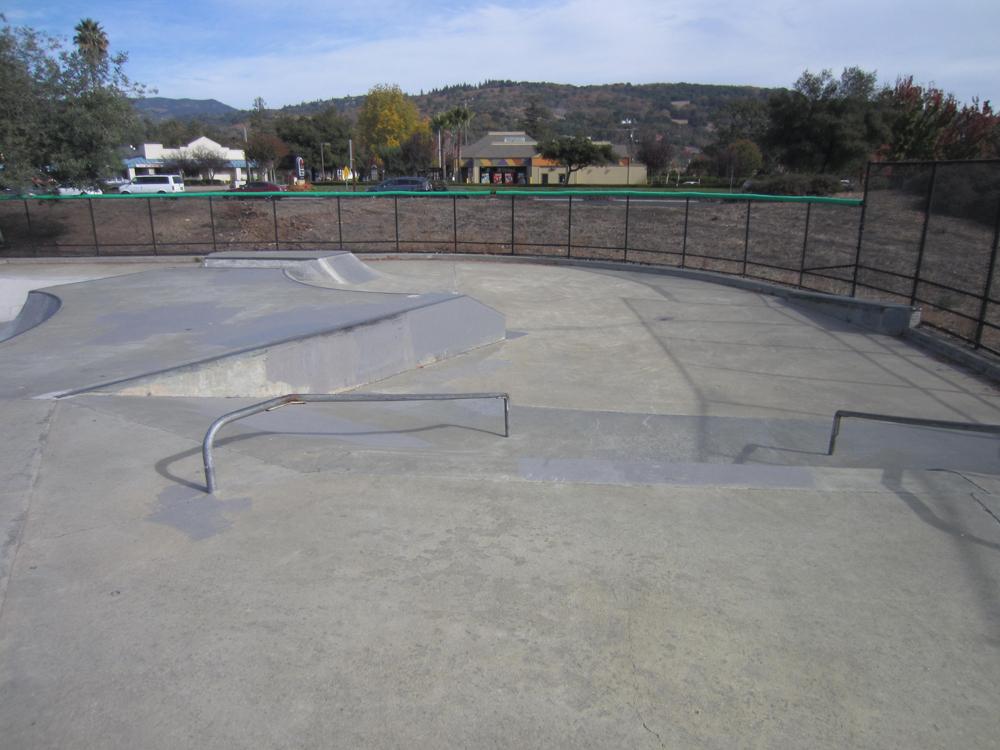 sonoma skatepark, sonoma, california