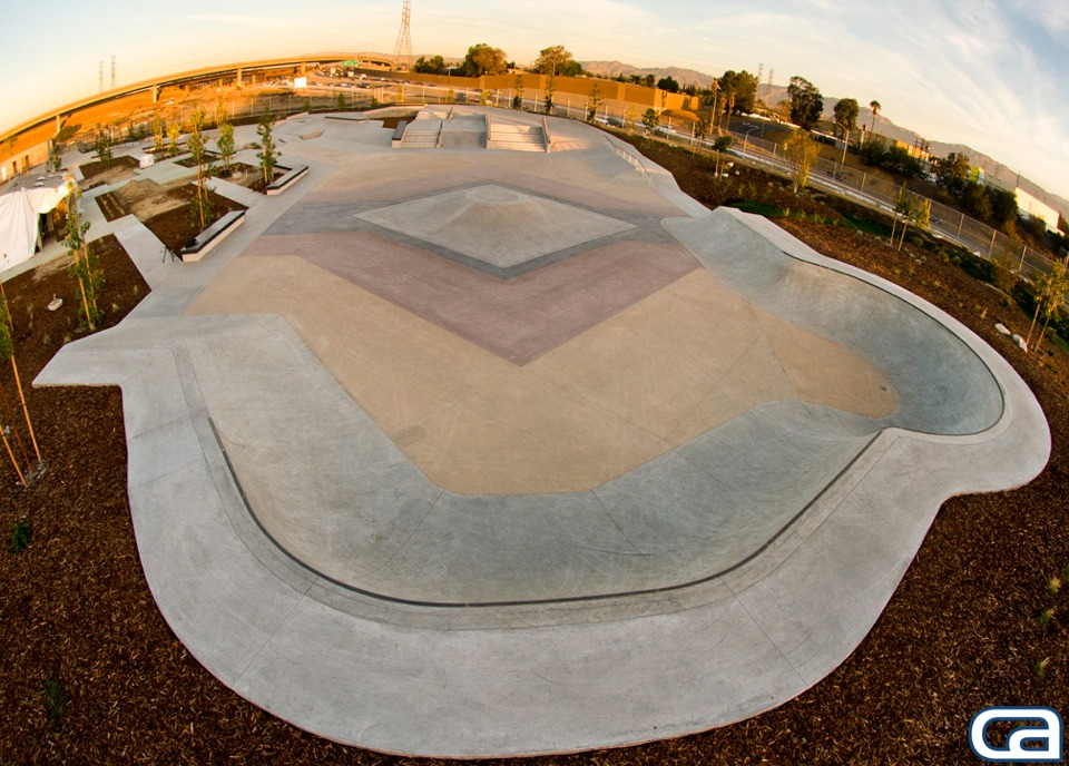 sheldon skatepark, sun valley, california