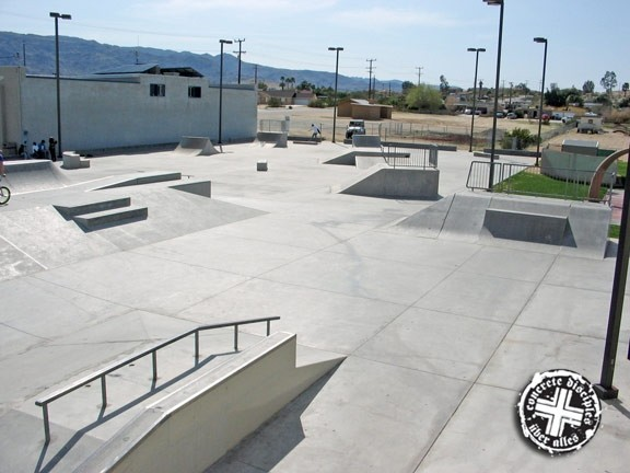 twentynine palms skatepark, twentynine palms, california