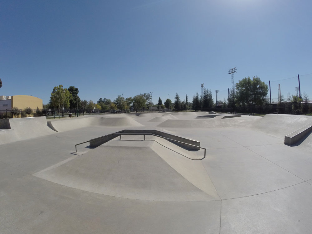 provident skatepark, visalia, california