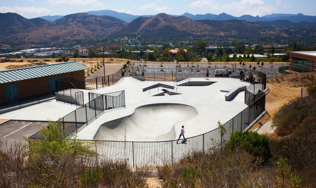 westlake village skatepark, westlake village, california