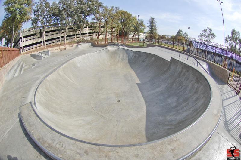 whittier skatepark, whittier, california