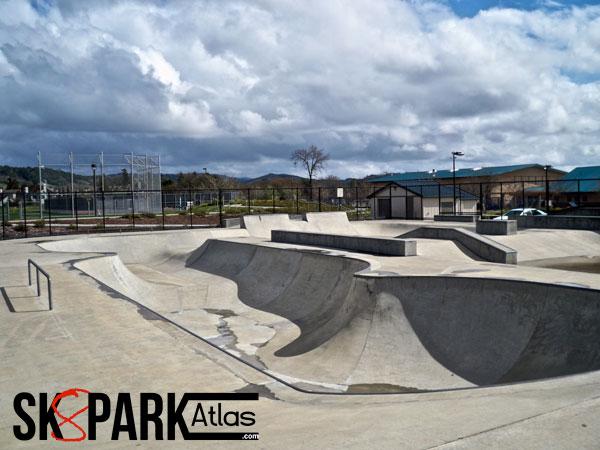 pat elsbree skatepark, windsor, california