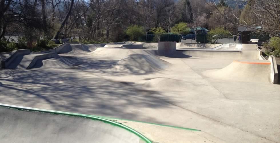 ashland skatepark, ashland, oregon