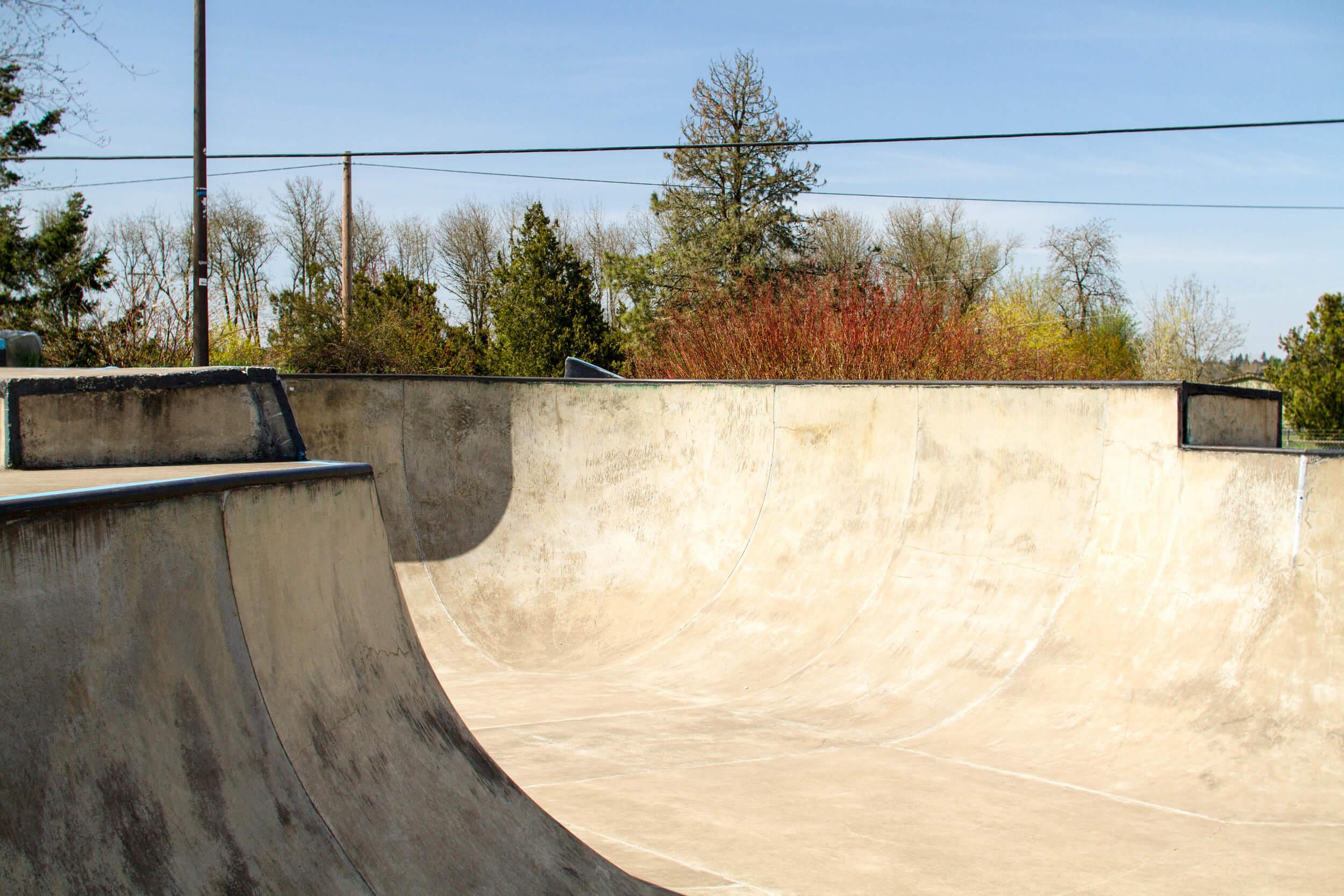 brian haney memorial skatepark, aumsville, oregon