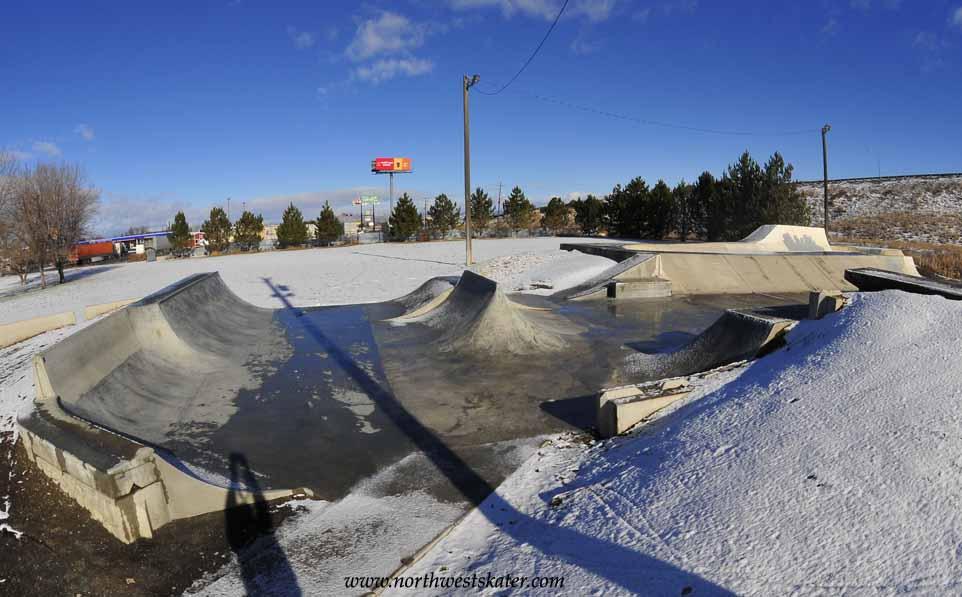 sam-o skate park, baker city, oregon