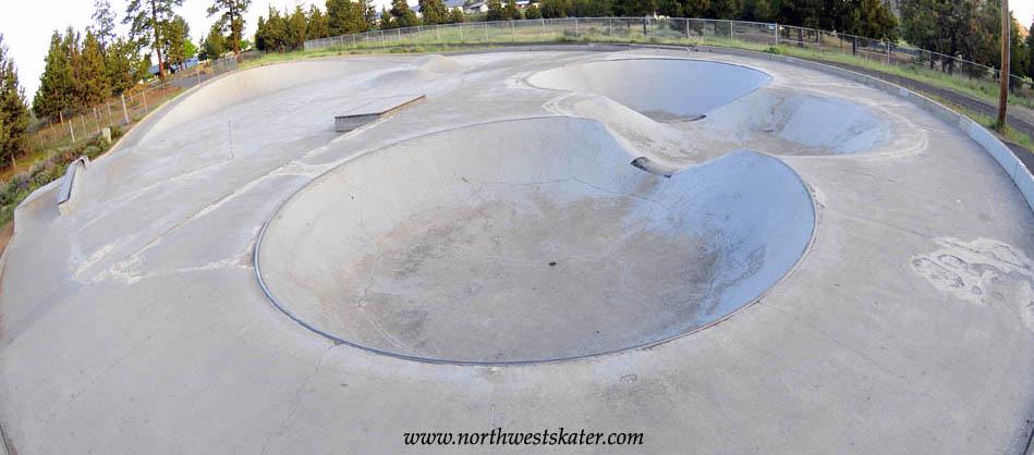 old ponderosa skatepark, bend, oregon