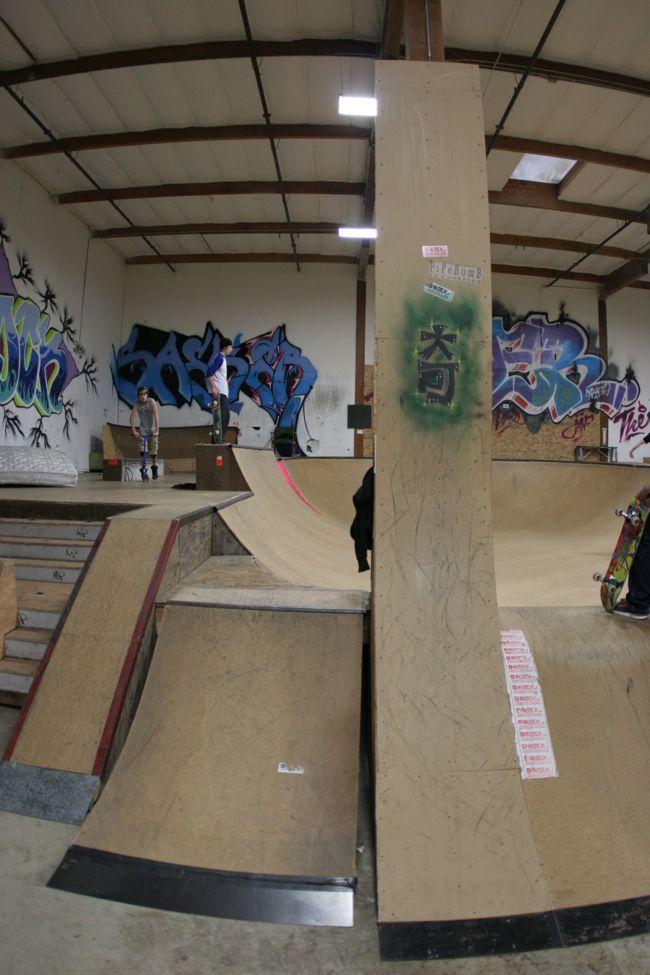 d-block indoor skatepark, clackamas, oregon
