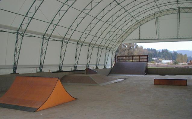 clatskanie skatepark, clatskanie, oregon