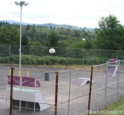 corbett skatepark, corbett, oregon