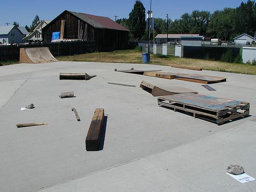 enterprise skatepark, enterprise, oregon
