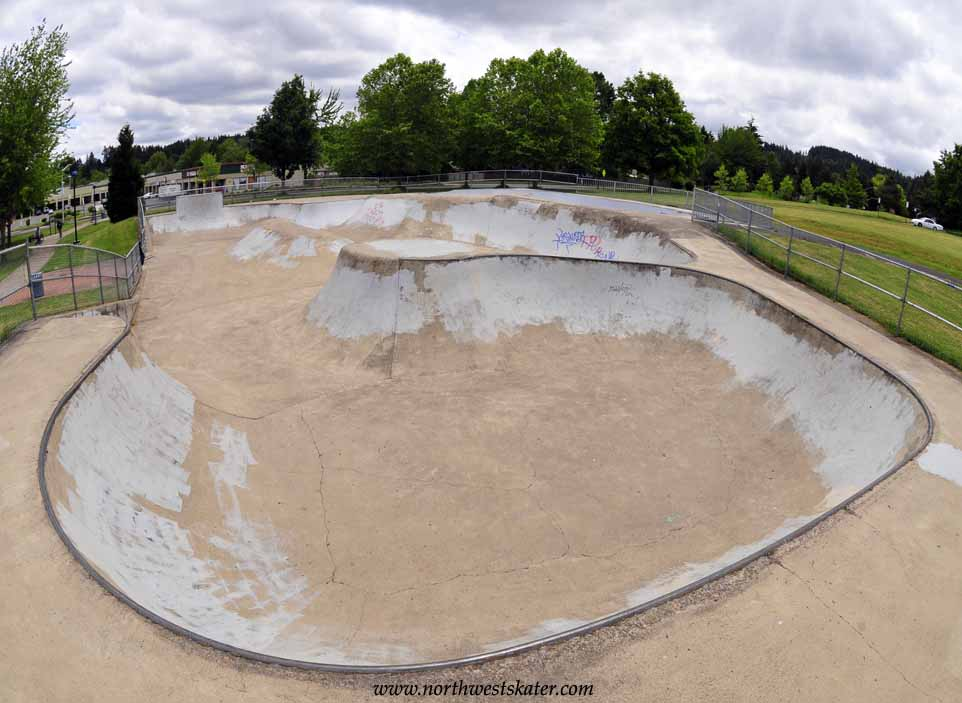 churchil skatepark, eugene, oregon