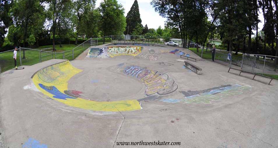emerald skatepark, eugene, oregon