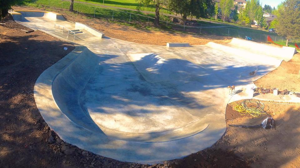 happy valley skatepark, happy valley, oregon