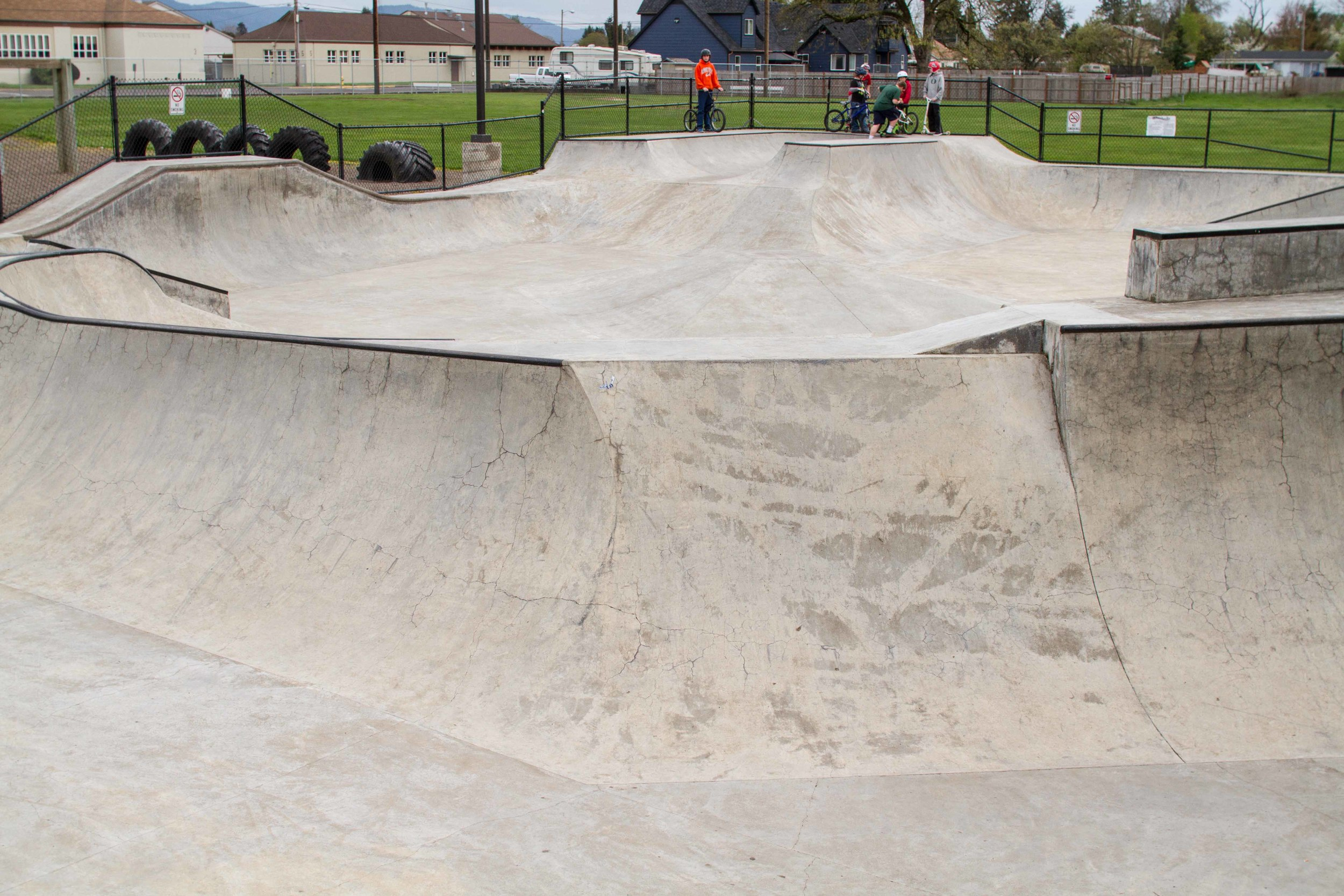 harrisburg skatepark, harrisburg, oregon
