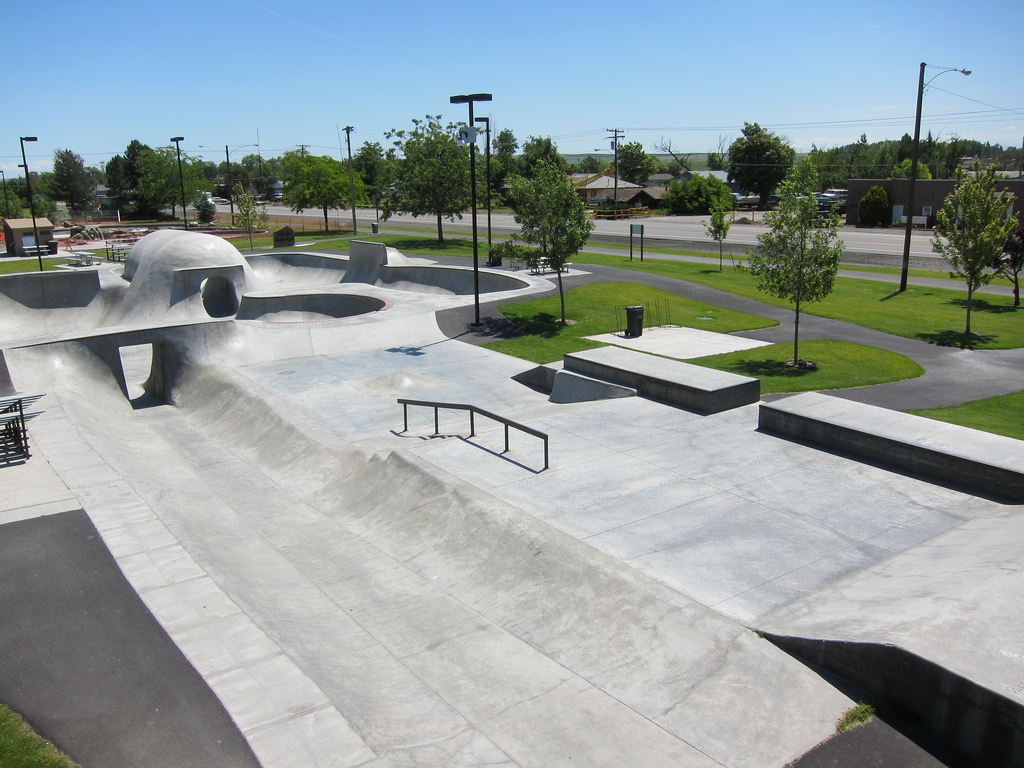 don baxter skatepark, irrigon, oregon