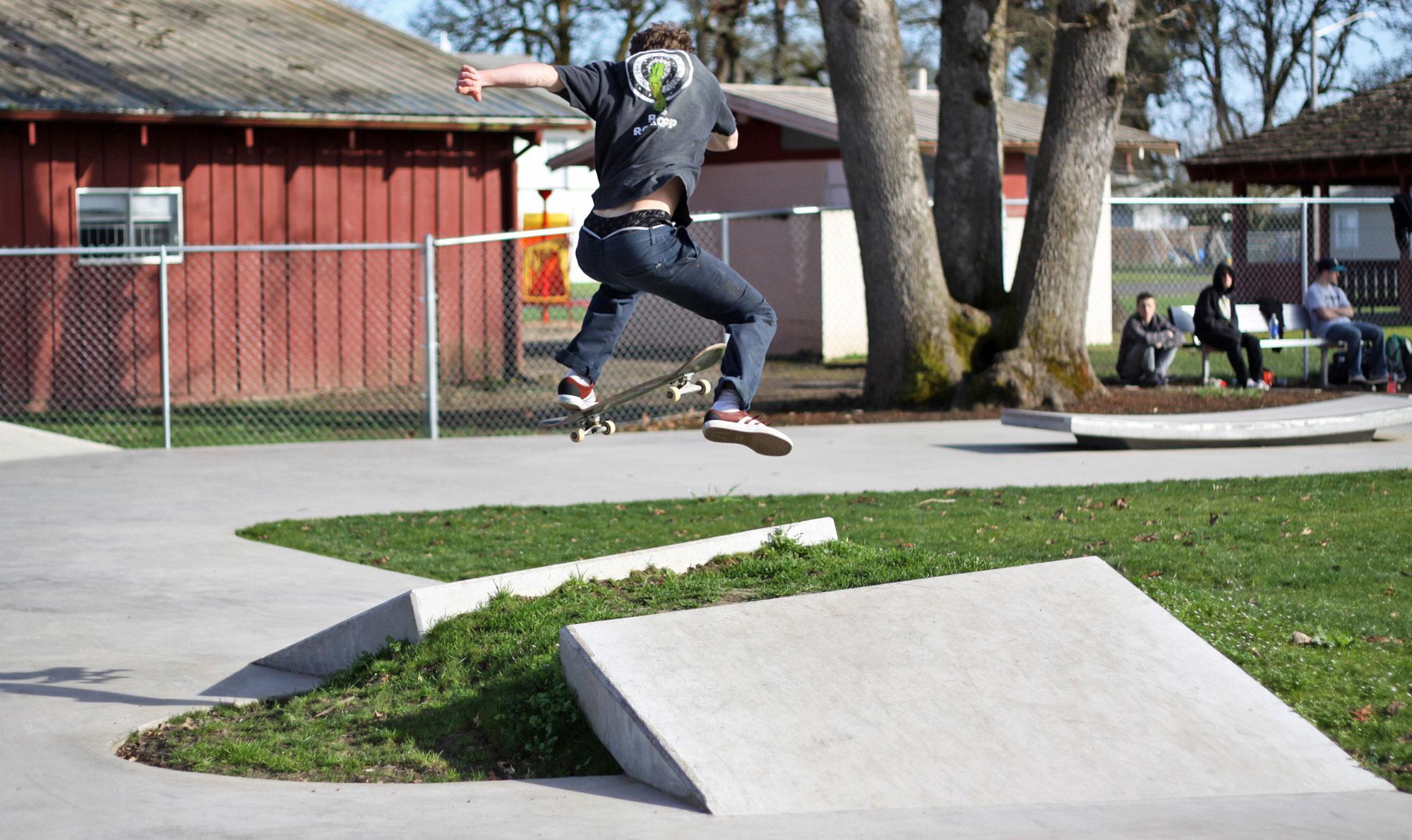 junction city skatepark, junction city, oregon
