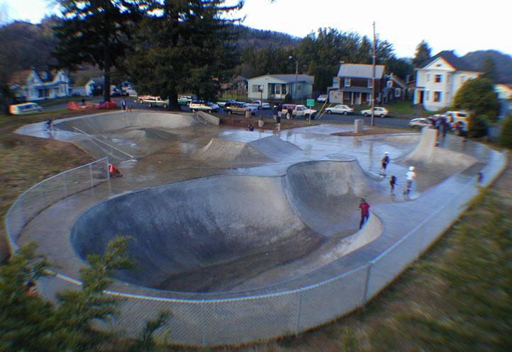 myrtle point skatepark, myrtle point, oregon