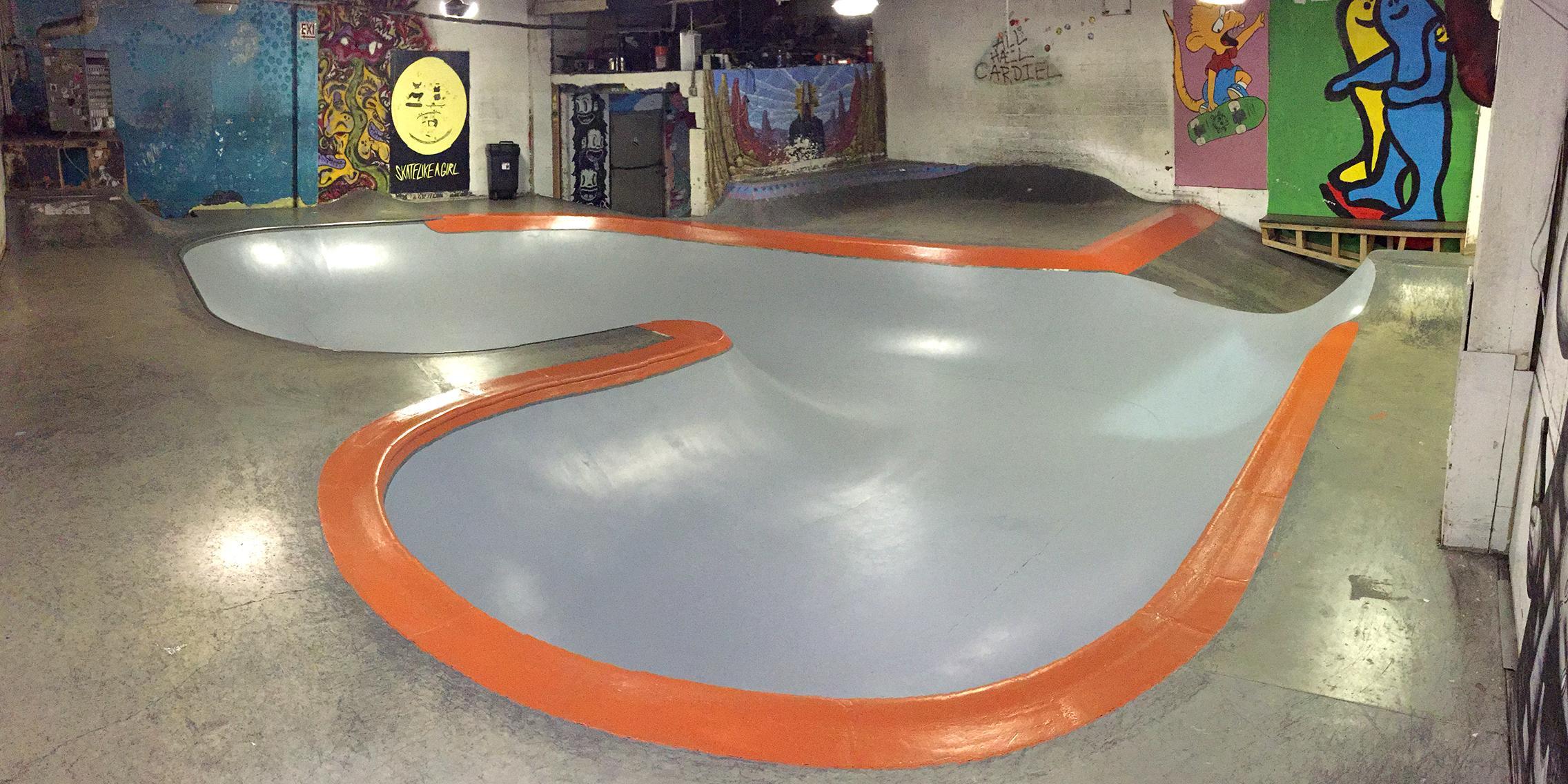 commonwealth skatepark, portland, oregon