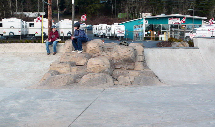 ed benedict skate plaza, portland, oregon