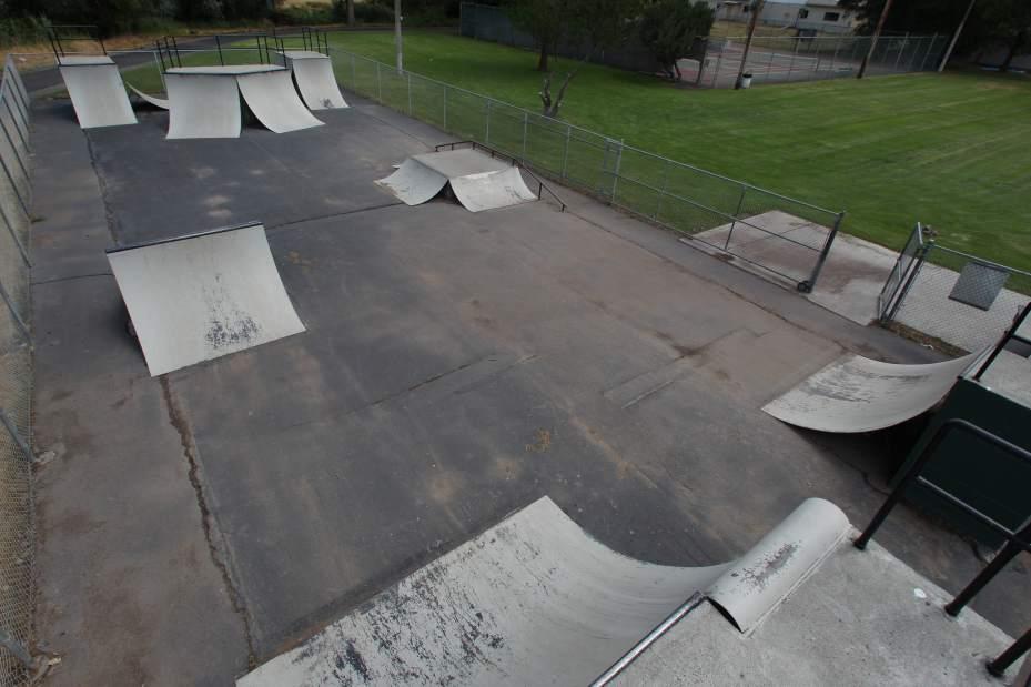 prineville skatepark, prineville, oregon
