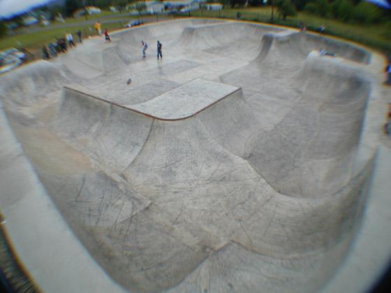 siletz skatepark, siletz, oregon