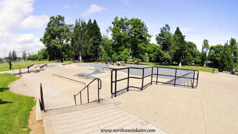 willamalane skatepark, springfield, oregon