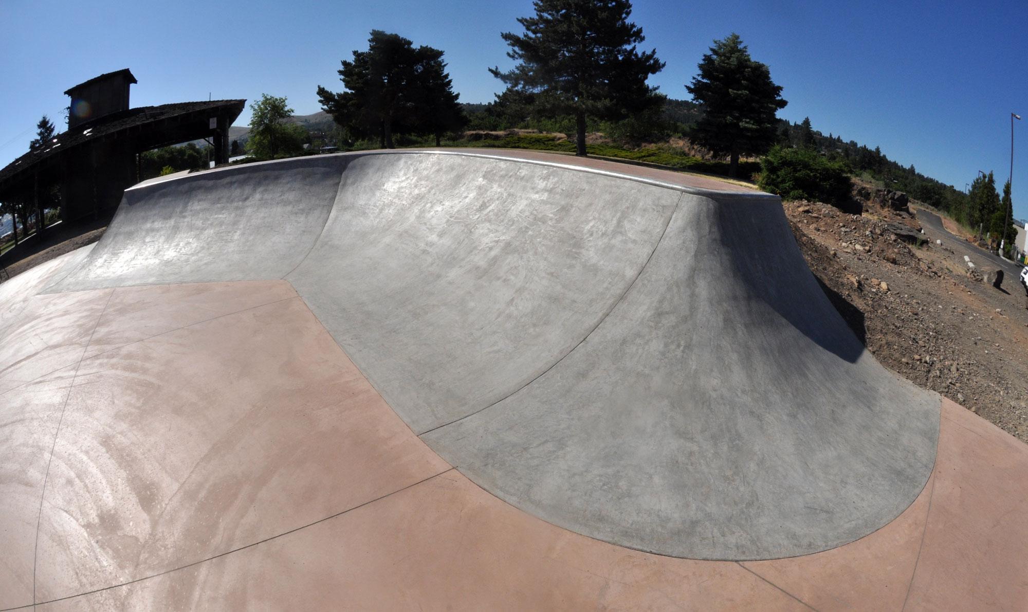 thompson park skatepark, the dalles, oregon