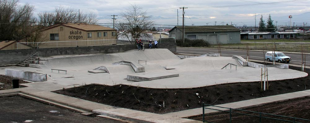 white city skatepark, white city, oregon