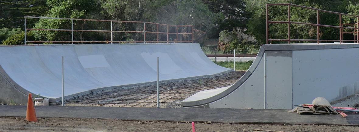 monte family skatepark, capitola, california