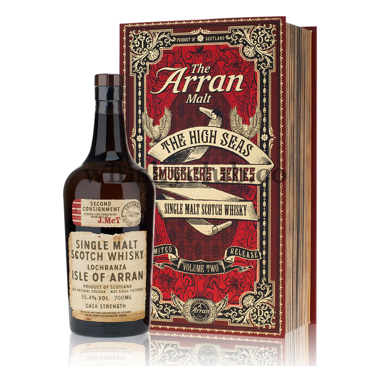 01 375 1 the arran malt the high seas smugglers series limited release volume two single malt scotch whisky lochranza isle of arran