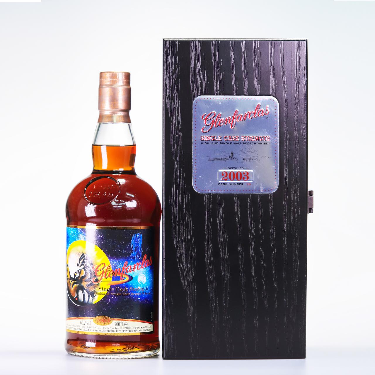 Glenfarclas 2003 single tiger's exclusive selection cask  76