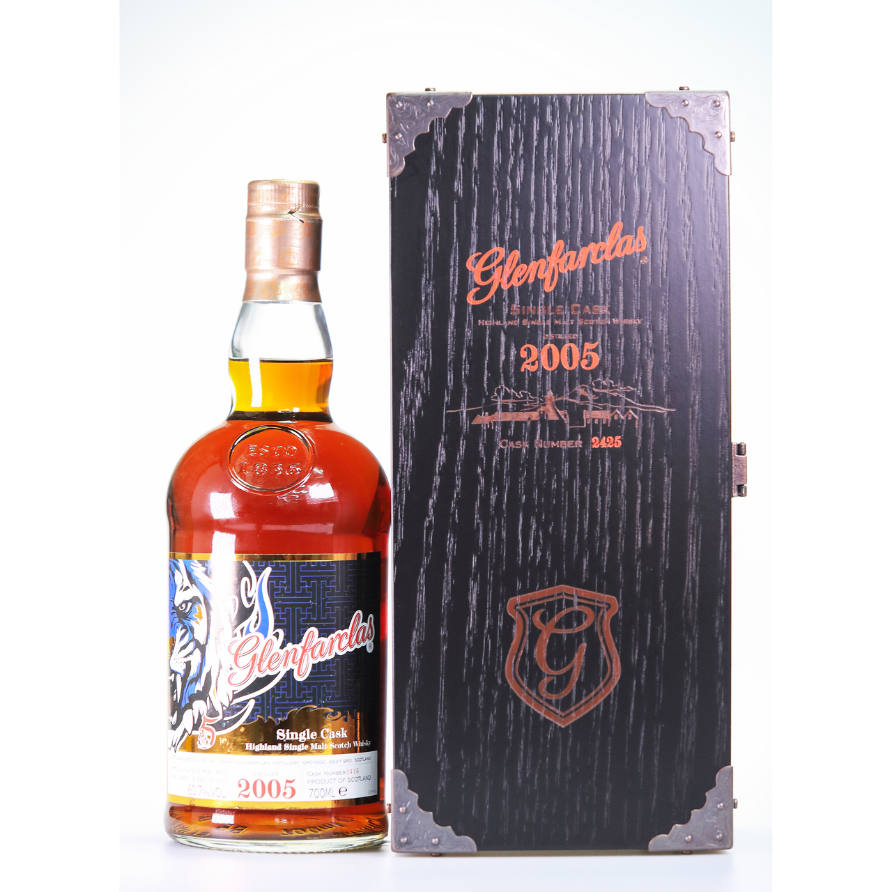 Glenfarclas 2005 tiger's selection 5th edition limited edition blue%c2%a0