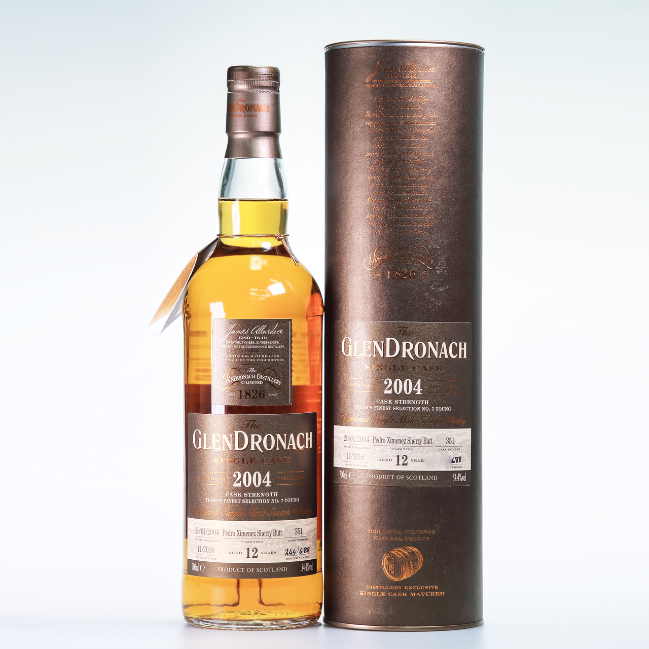 Glendronach 2004 12 year old cask  351