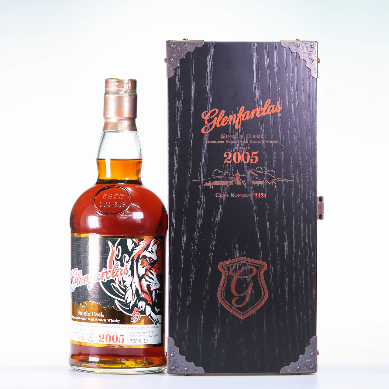 Glenfarclas 2005 tiger's selection 5th edition limited edition%c2%a0red
