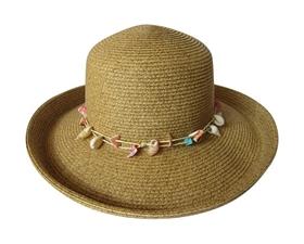 wholesale kettle sun hat seashells