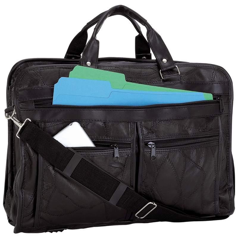 BCLBC Genuine LEATHER Briefcase