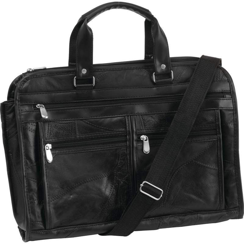 Genuine Buffalo LEATHER Concealed Carry BRIEFCASE