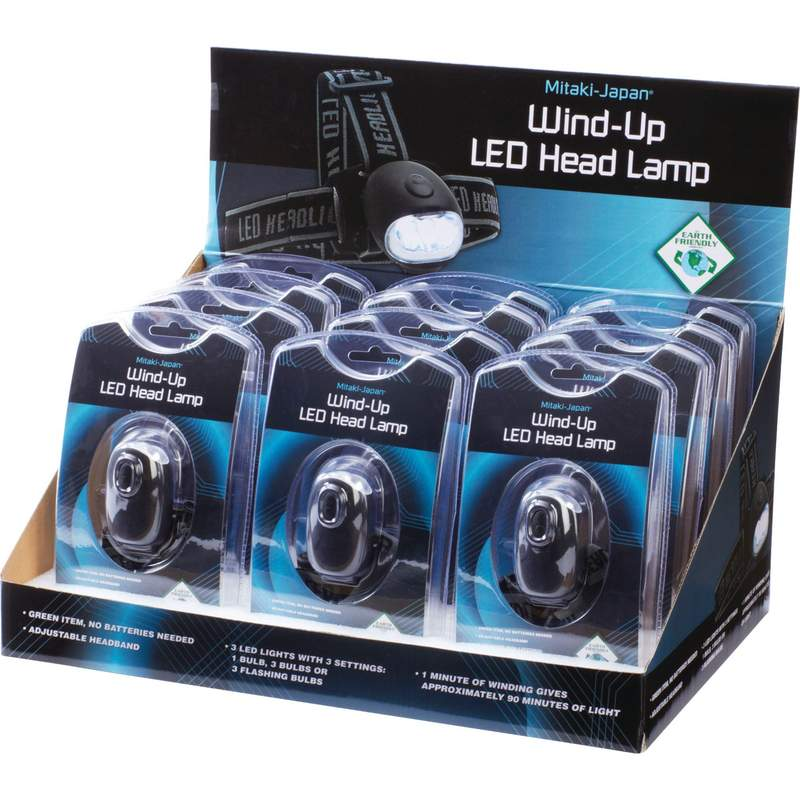 12pc Wind-Up Head LAMPs